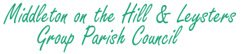 Middleton on the Hill & Leysters Group Parish Council logo