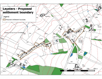 Settlement Boundary and Call for Sites Assessment Report May 2016 Appendix 1