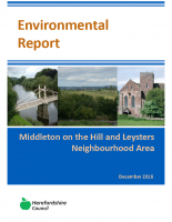 Regulation 14 Neighbourhood Plan Environmental Report December 2016